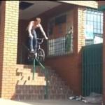 Wypadek na rowerze - O MATKO...