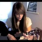 Amatorka wykonuje swoją piosenkę - SUPER!