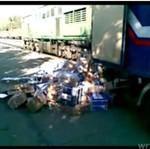 Tak się traktuje paczki w Rosji!