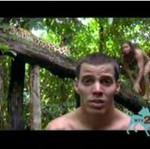 Chris Pontius głaska dzikiego jaguara!
