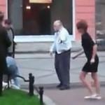 Ukraińska zadyma na ulicy