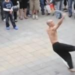 TAJWAN - nieziemski występ ulicznego performera