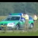 Mijanie policji przy zawrotnej prędkości