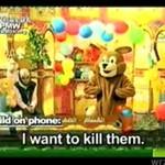 Takie programy oglądają dzieci w Palestynie...