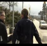 Reporter się zagapił - AUĆ!