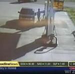 Wypadek na stacji benzynowej