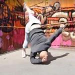 Damien Walters - niesamowity akrobata!