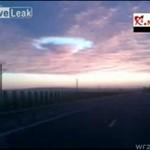PRZEDZIWNA chmura w Rumunii!