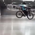 Latający rower - WOW!