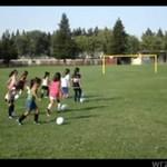 Dziewczynki chcą grać jak Cristiano Ronaldo!