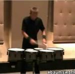 Utalentowany perkusista