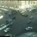 Ruch na ruskim skrzyżowaniu - CO ZA CHAOS!