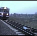 Zabawa z pociągiem - ZGINĄŁ!?