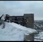 Śnieżne bungee w Rosji - niebezpieczne!