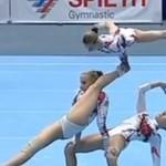 Ukraińskie gimnastyczki - NIESAMOWITE!