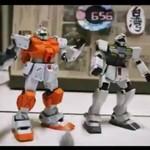 Transformersy walczą w stop motion - WOW!