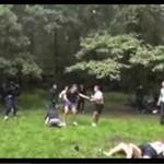 Kibole z Rosji - ustawkaw lesie