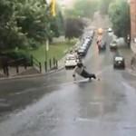Wypadekna longboardzie - AŁA!