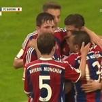 Pierwszy gol Lewandowskiego dla Bayernu Monachium