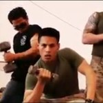Tak imprezują żołnierze w Afganistanie!
