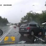 Solidna porcja wypadków drogowych