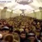 Tłok w moskiewskim metrze
