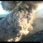 Turyści chcieli obejrzeć wulkan