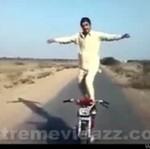 Motocyklowy wariat