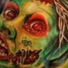 Zombie - ciekawe tatuaże