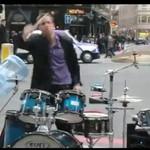 Genialny muzyk uliczny