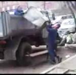 Pijani śmieciarze - ROSJA