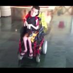 Drifting na wózku inwalidzkim!