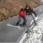 Idioci tańczą na lodzie - KULTOWE!