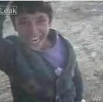 Wielka radość irackiego dzieciaka