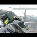 Katastrofa helikoptera - z bliska!
