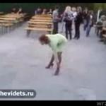 ZALANA W TRUPA kobieta z Rosji