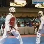 Najlepsze akcje w taekwondo - MIX