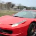 Wypadek Ferrari - AUĆ!