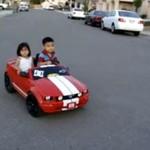 Dzieciaki driftują - WOW!