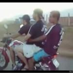 Motor pozbył się 3 idiotów!