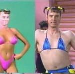 Jim Carrey w klubie fitness