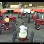 Taniec traktorów - DOBRE!