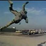Salto amerykańskiego żołnierza
