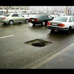 Monstrualna dziura w jezdni!