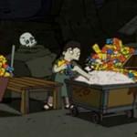 """Czołówka """"The Simpsons"""" w wykonaniu Banksego - KLASYKA!"""