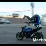 Bolesny wypadek motocyklisty