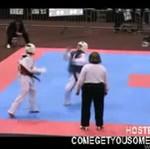 Taekwondo - składanka pięknych nokautów!