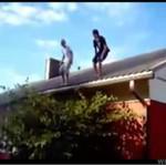 Dwóch jełopów i trampolina