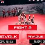 Sportowa ustawka kiboli - Rosja vs Czechy