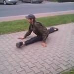 Pijany ninja z polskich ulic